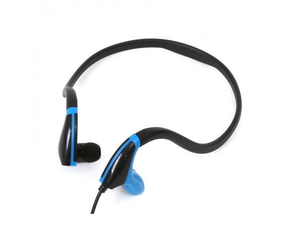 FREESTYLE IN-EAR EARPHONES + MIC SPORT FH1019 BLACK + BLUE [42442]