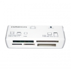 CARD READER OMEGA ALL IN ONE WHITE (R-034)
