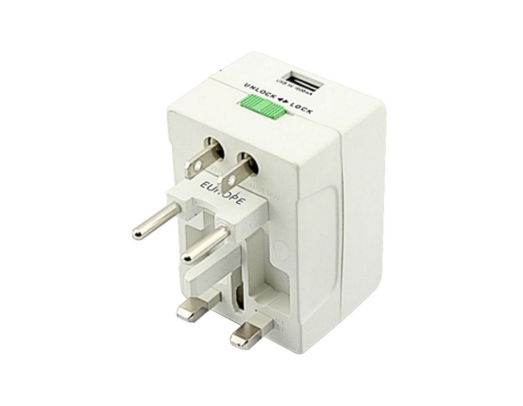 Travel Power Adaptor Omega 4in1