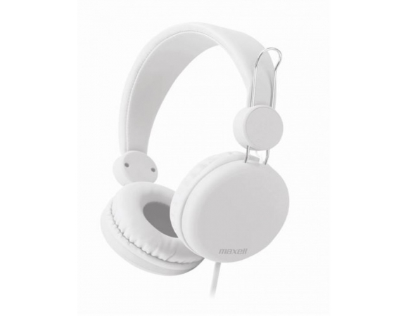 Headphones Maxell 303641 Spectrum with In-Line Microphone - White