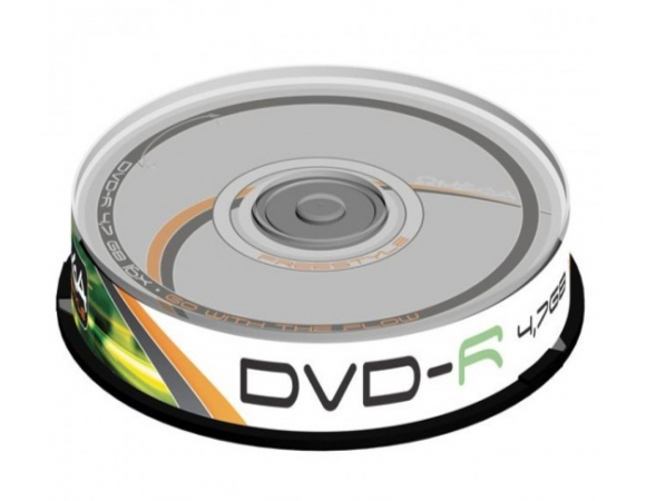 DVD-R FREESTYLE 4,7GB 16X Pack 10