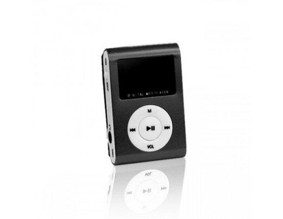 MP3 Setty With FM Radio LCD + Earphones  Black