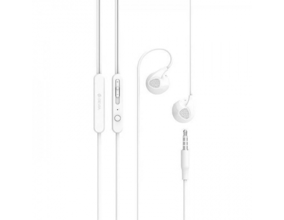 Earphones DEVIA D2 Ripple White