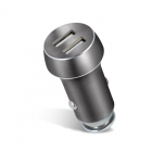 CAR CHARGER FOREVER 2xUSB  3,1A SPACE GREY