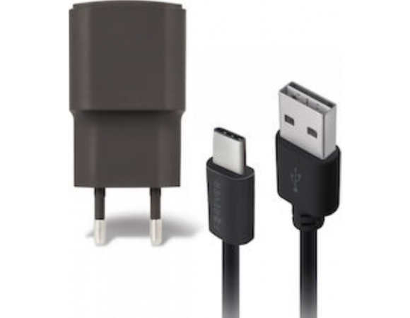 Wall Charger Forever with Micro USB 1A Black