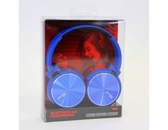 Headphones Freestyle FH-0917 With MIC Blue
