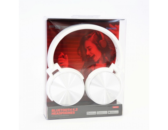 Headphones FREESTYLE FH-0917 With Mic White