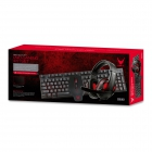 Gaming 4in1 Set Omega Varr Mouse/Mousepad/Headset/Keyboard Squad