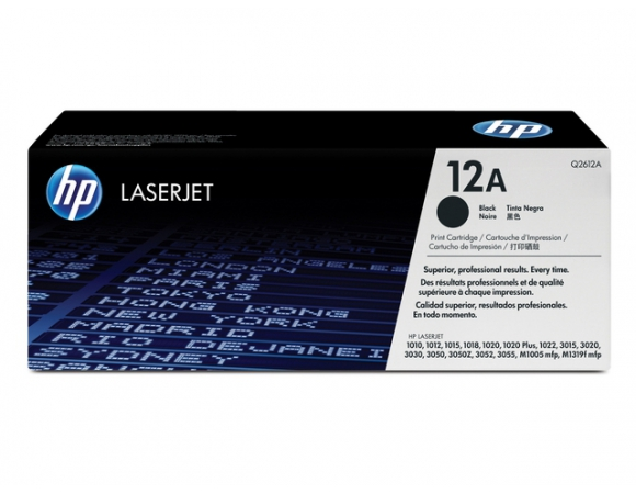 TONER HP 12A Black (Q2612A) 2K